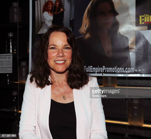 Barbara Hershey attends Chiller Theatre Expo Spring 2017 at Hilton Parsippany on April 21 2017 in Parsippany New Jersey