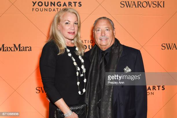 Barbara Herzberg and Dr Sidney Stern attend 2nd Annual National YoungArts Foundation New York Gala at The Metropolitan Museum of Art on April 20 2017...