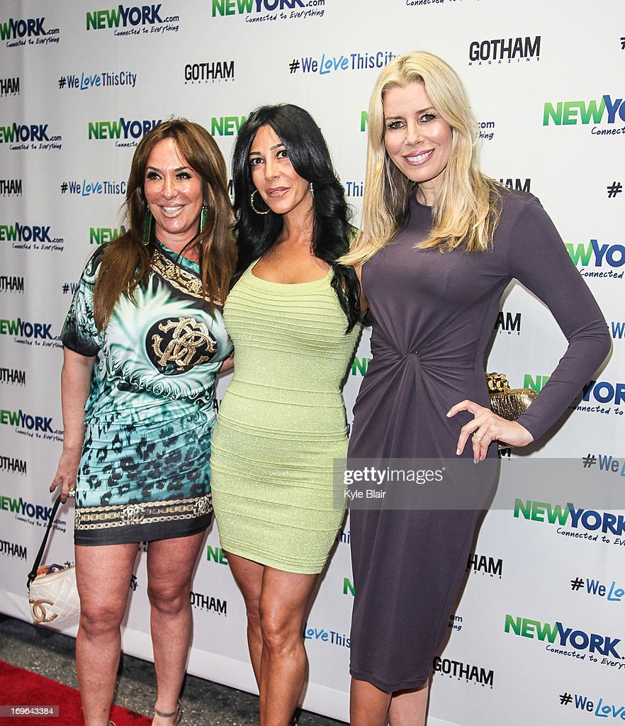 Barbara Kavovit, Carla Facciolo, and Aviva Drescher attend the NewYork.com Launch Party at Arena on May 29, 2013 in New York City.