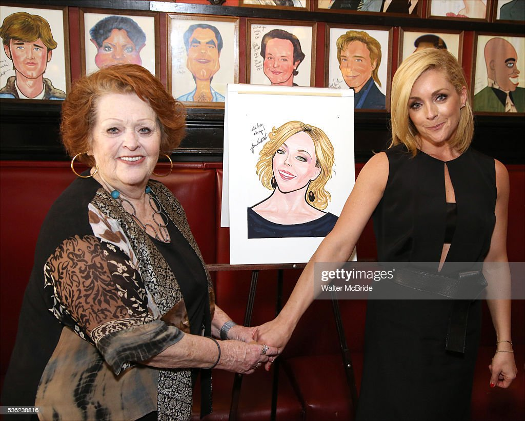 Barbara Krajkowski and daughter <a gi-track='captionPersonalityLinkClicked' href=/galleries/search?phrase=Jane+Krakowski&family=editorial&specificpeople=203166 ng-click='$event.stopPropagation()'>Jane Krakowski</a> attend the <a gi-track='captionPersonalityLinkClicked' href=/galleries/search?phrase=Jane+Krakowski&family=editorial&specificpeople=203166 ng-click='$event.stopPropagation()'>Jane Krakowski</a> Sardi's portrait unveiling at Sardi's on May 31, 2016 in New York City.