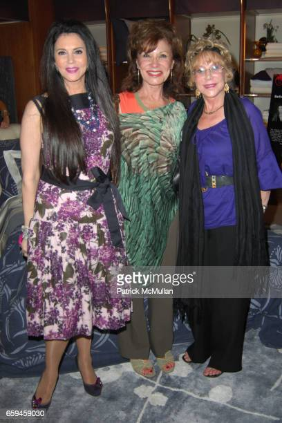 Barbara Lazaroff Pat Elliot and Selma Jaffe attend FRETTE Beverly Hills Designer Event at FRETTE on September 10 2009 in Beverly Hills California