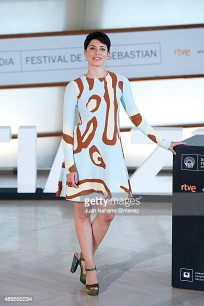 Barbara Lennie attends 'El Apostata' photocall during 63rd San Sebastian Film Festival on September 22 2015 in San Sebastian Spain