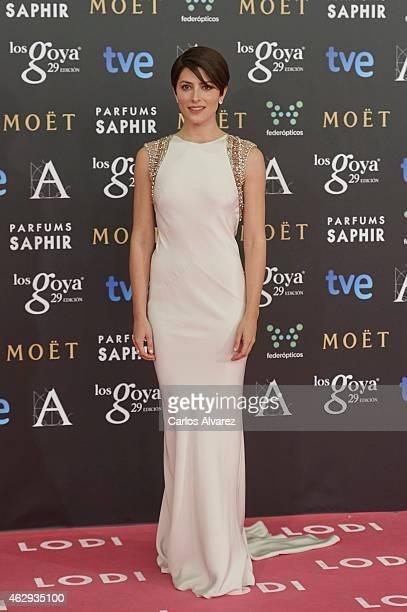 Barbara Lennie attends Goya Cinema Awards 2014 at Centro de Congresos Principe Felipe on February 7 2015 in Madrid Spain