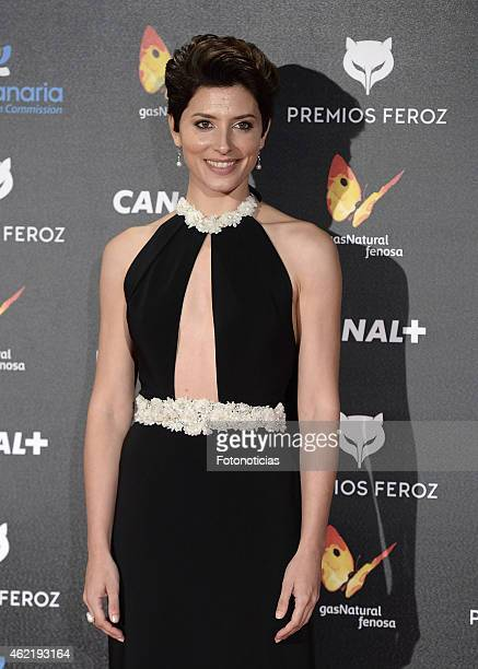 Barbara Lennie attends the 2015 'Feroz' Cinema Awards at Gran Teatro Ruedo Las Ventas on January 25 2015 in Madrid Spain