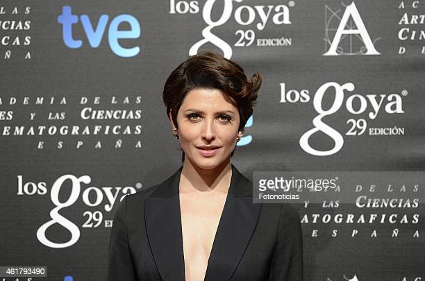 Barbara Lennie attends the 29th Goya Awards Nominated Party at the Canal Theater on January 19 2015 in Madrid Spain