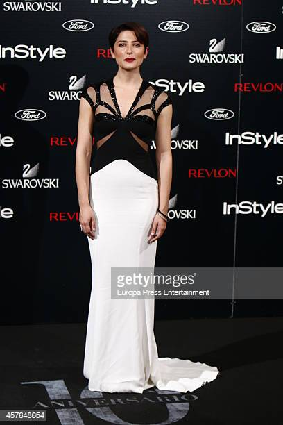 Barbara Lennie attends the InStyle Magazine 10th anniversary party on October 21 2014 in Madrid Spain