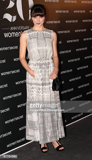 Barbara Lennie attends Women'secret New Collection presentation 20th anniversary on November 6 2013 in Madrid Spain