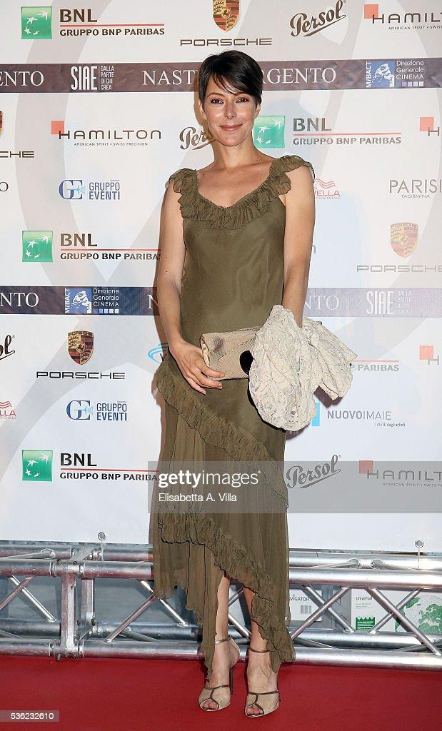 Barbara Livi attends Nastri D'Argento 2016 Award Nominations at Maxxi on May 31, 2016 in Rome, Italy.