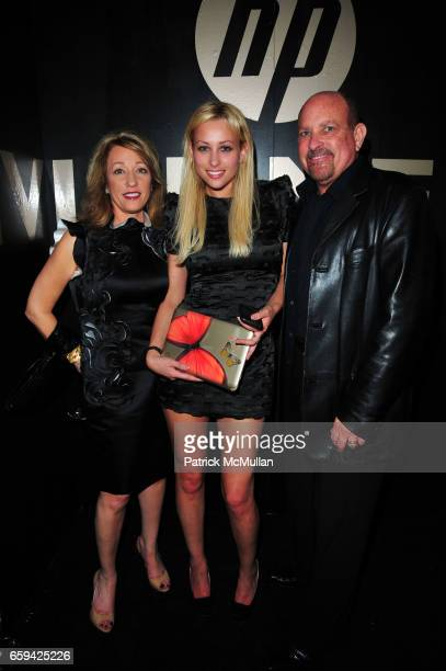 Barbara Lubin Allison Lubin and Jeffrey Lubin attend VIVIENNE TAM Spring/Summer 2010 Collection AfterParty at Vivienne Tam SoHo NYC on September 12...