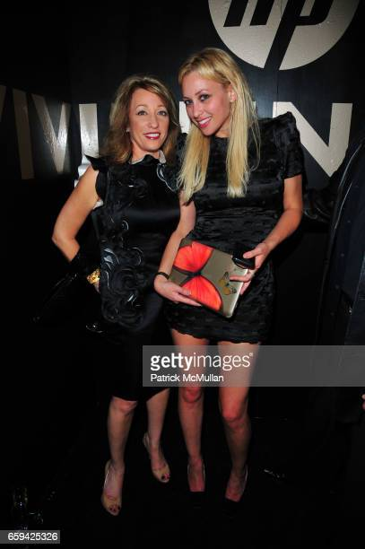 Barbara Lubin and Allison Lubin attend VIVIENNE TAM Spring/Summer 2010 Collection AfterParty at Vivienne Tam SoHo NYC on September 12 2009 in New...