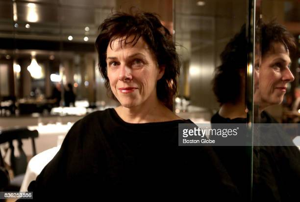 Barbara Lynch poses for a portrait in the dining room of her restaurant Menton in Boston Nov 9 2016