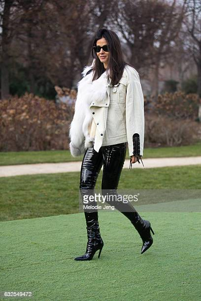 Barbara Martelo at the Dior Couture show at Musee Rodin on January 23 2017 in Paris France