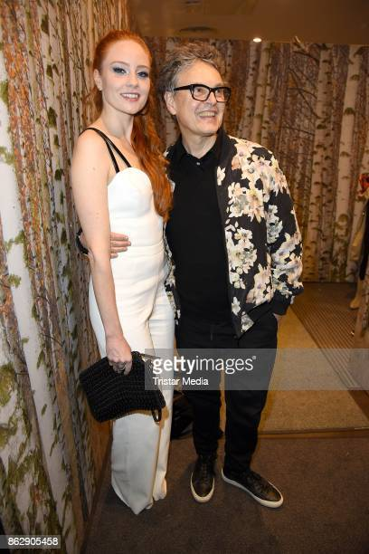 Barbara Meier and Rolf Scheider attend the TK Maxx 10th anniversary celebration on October 18 2017 in Berlin Germany