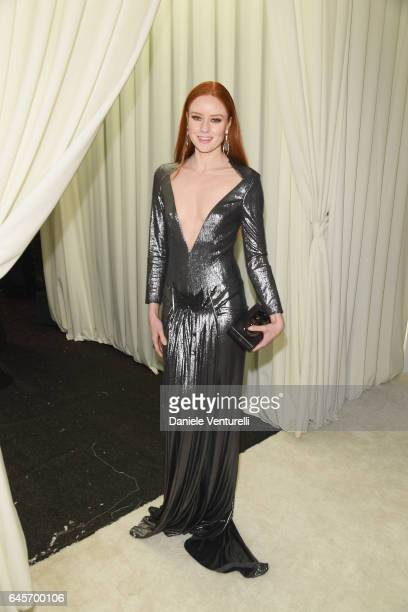 Barbara Meier attends Bulgari at the 25th Annual Elton John AIDS Foundation's Academy Awards Viewing Party at on February 26 2017 in Los Angeles...