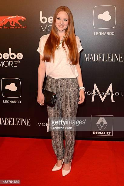 Barbara Meier attends Leonardo at the New Faces Award Film 2014 at eWerk on May 8 2014 in Berlin Germany