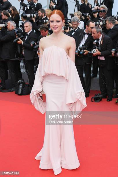 Barbara Meier attends the 70th anniversary event during the 70th annual Cannes Film Festival at Palais des Festivals on May 23 2017 in Cannes France