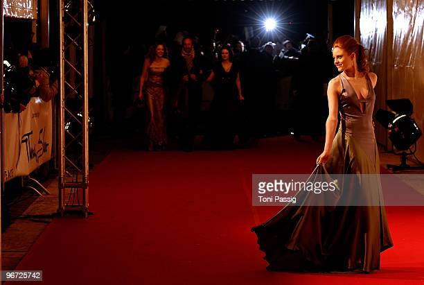 Barbara Meier attends the Annual Cinema For Peace Gala during day five of the 60th Berlin International Film Festival at the Konzerthaus am...