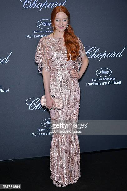 Barbara Meier attends the Chopard Party at Port Canto during the 69th annual Cannes Film Festival on May 16 2016 in Cannes France