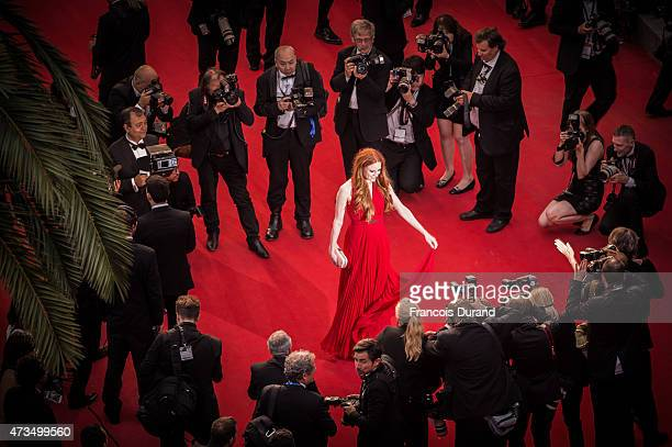 Barbara Meier attends the Premiere of 'Irrational Man' during the 68th annual Cannes Film Festival on May 15 2015 in Cannes France