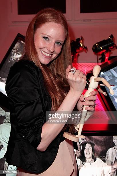 Barbara Meier attends the Shocking Shorts Award at Galerie der Kuenstler on July 2 2013 in Munich Germany