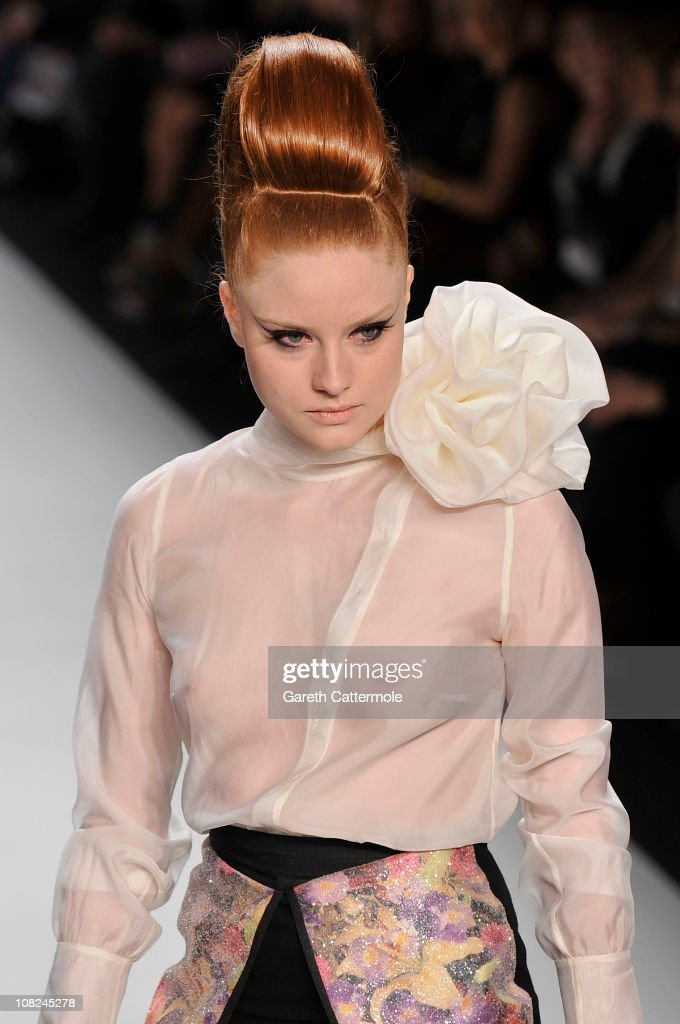 <a gi-track='captionPersonalityLinkClicked' href=/galleries/search?phrase=Barbara+Meier&family=editorial&specificpeople=4304499 ng-click='$event.stopPropagation()'>Barbara Meier</a> walks the runway at the Stephan Pelger Show during the Mercedes Benz Fashion Week Autumn/Winter 2011 at Bebelplatz on January 22, 2011 in Berlin, Germany.