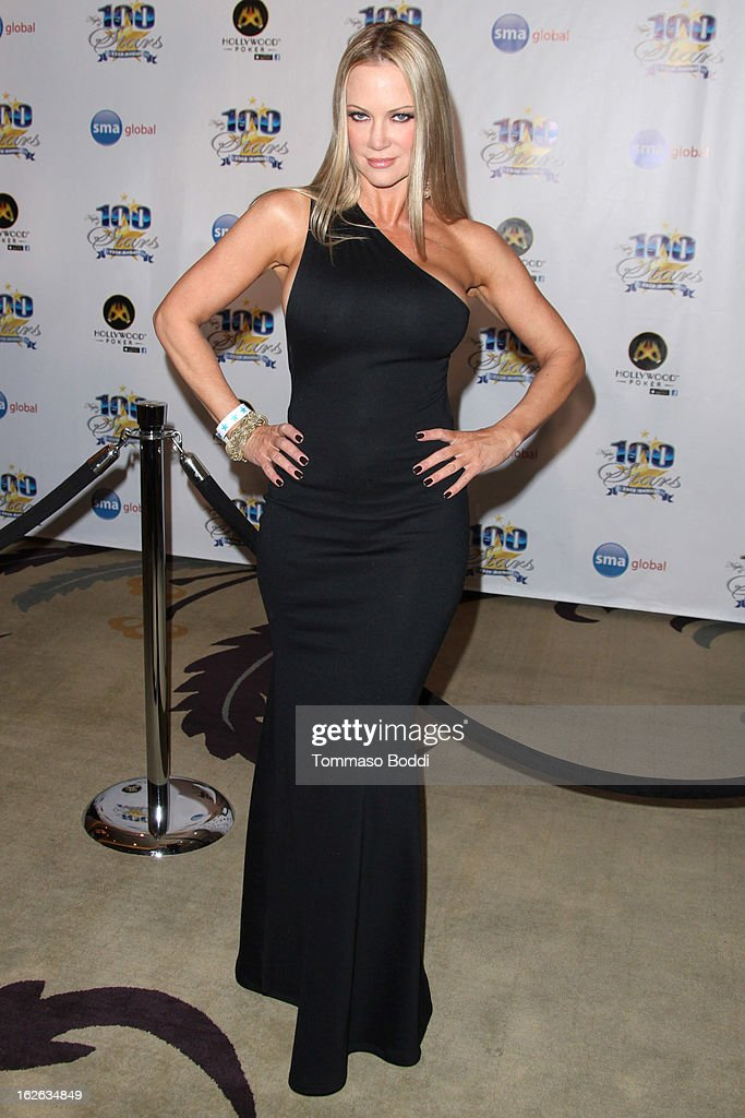 <a gi-track='captionPersonalityLinkClicked' href=/galleries/search?phrase=Barbara+Moore&family=editorial&specificpeople=206615 ng-click='$event.stopPropagation()'>Barbara Moore</a> attends the 23rd annual Night Of 100 Stars black tie dinner viewing gala held at the Beverly Hills Hotel on February 24, 2013 in Beverly Hills, California.