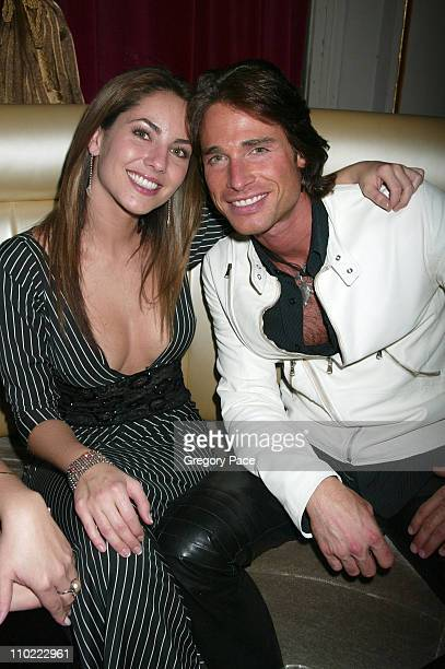 Barbara Mori and Sebastian Rulli during People En Espanol's 4th Annual '50 Most Beautiful' Gala Inside the Party at Capitale in New York City New...