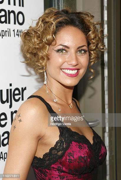 Barbara Mori during 'La Mujer de Mi Hermano' Miami Premiere at Regal South Beach Cinema in Miami Beach Florida United States