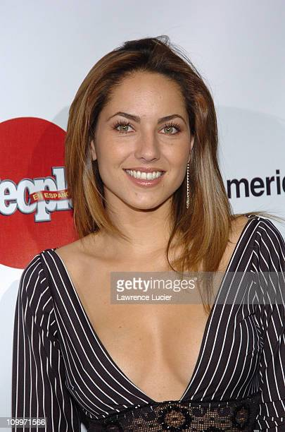 Barbara Mori during People En Espanol's 4th Annual 50 Most Beautiful Gala Arrivals at Capitale in New York City New York United States