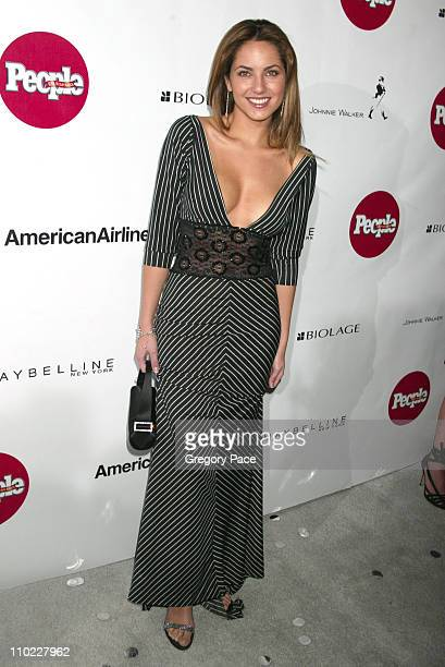 Barbara Mori during People En Espanol's 4th Annual '50 Most Beautiful' Gala White Carpet Arrivals at Capitale in New York City New York United States