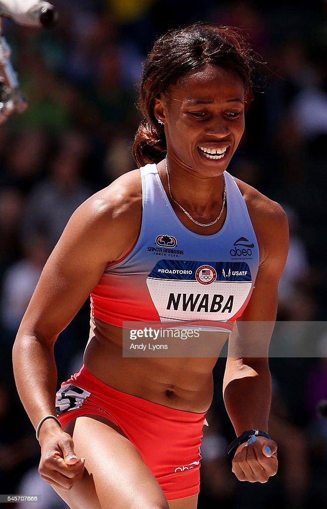 Barbara Nwaba heptathlon