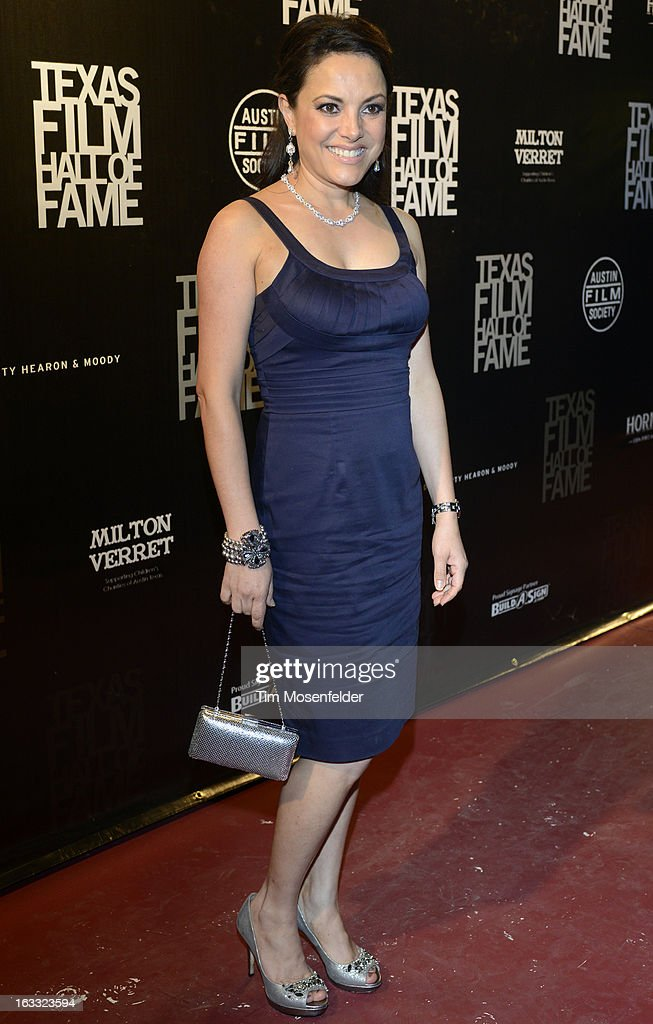 Barbara Padilla poses at the Texas Film Hall of Fame Awards at Austin Studios on March 7, 2013 in Austin, Texas.