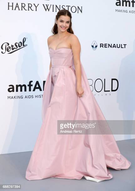 Barbara Palvin arrives at the amfAR Gala Cannes 2017 at Hotel du CapEdenRoc on May 25 2017 in Cap d'Antibes France
