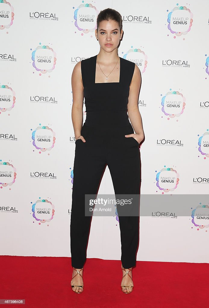 <a gi-track='captionPersonalityLinkClicked' href=/galleries/search?phrase=Barbara+Palvin&family=editorial&specificpeople=7190694 ng-click='$event.stopPropagation()'>Barbara Palvin</a> arrives at the L'Oreal Paris Launch event at the Carriageworks on March 24, 2015 in Sydney, Australia.
