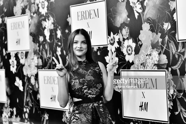 Barbara Palvin at HM x ERDEM Runway Show Party at The Ebell Club of Los Angeles on October 18 2017 in Los Angeles California