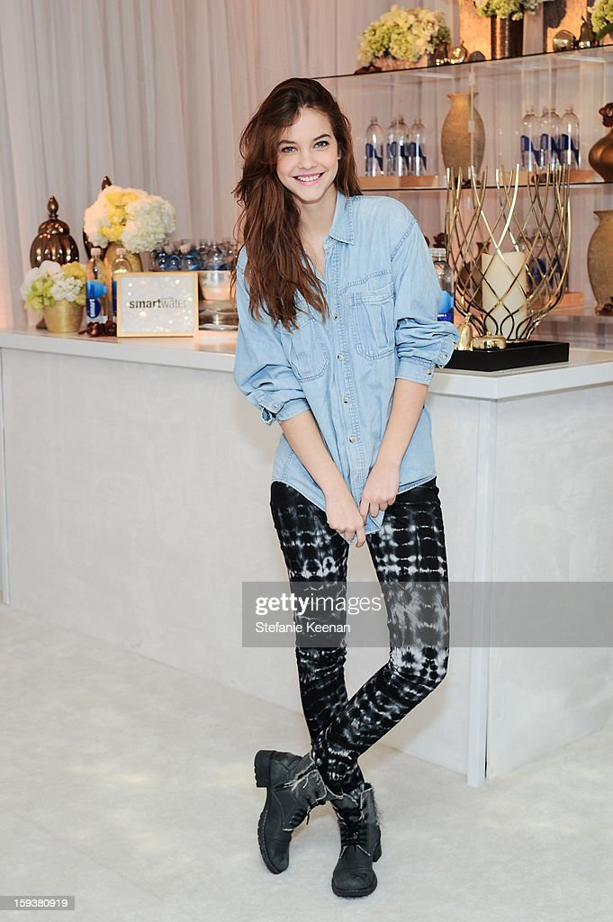 Barbara Palvin attends 2013 InStyle Beauty Lounge - Day 2 at Four Seasons Hotel Los Angeles at Beverly Hills on January 12, 2013 in Beverly Hills, California.