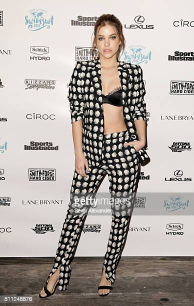 Barbara Palvin attends A Night at Sea VIP Boat Cruise sponsored by Sports Illustrated Swimsuit 2016 Yacht Cruise on February 18 2016 in Miami City