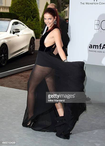 Barbara Palvin attends amfAR's 21st Cinema Against AIDS Gala Presented By WORLDVIEW BOLD FILMS And BVLGARI at the 67th Annual Cannes Film Festival on...