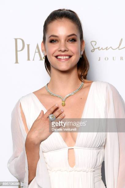 Barbara Palvin attends Piaget Sunlight Journey Collection Launch on June 13 2017 in Rome Italy