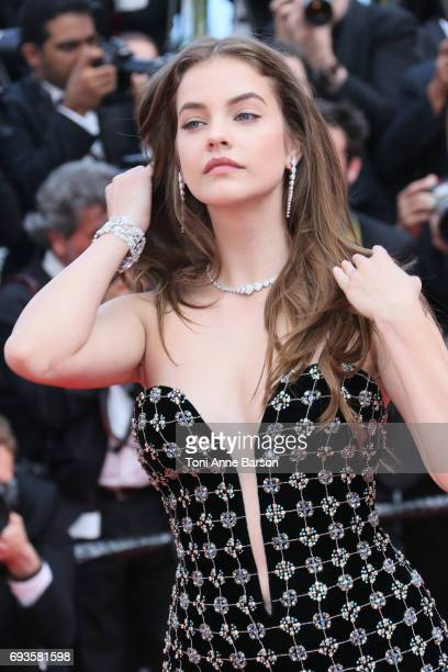 Barbara Palvin attends the 70th anniversary event during the 70th annual Cannes Film Festival at Palais des Festivals on May 23 2017 in Cannes France