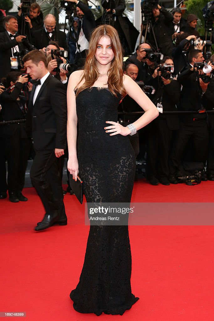 <a gi-track='captionPersonalityLinkClicked' href=/galleries/search?phrase=Barbara+Palvin&family=editorial&specificpeople=7190694 ng-click='$event.stopPropagation()'>Barbara Palvin</a> attends the 'All Is Lost' Premiere during the 66th Annual Cannes Film Festival at Palais des Festivals on May 22, 2013 in Cannes, France.