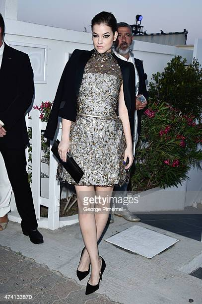 Barbara Palvin attends the Chanel Vanity Fair party during the 68th annual Cannes Film Festival on May 20 2015 in Cannes France