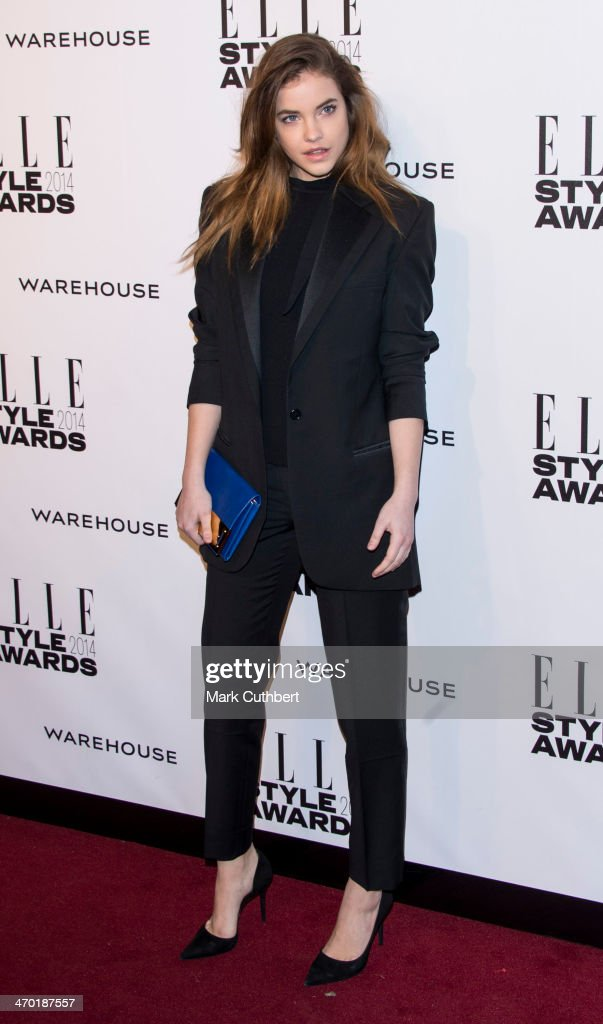 Barbara Palvin attends the Elle Style Awards 2014 at one Embankment on February 18, 2014 in London, England.