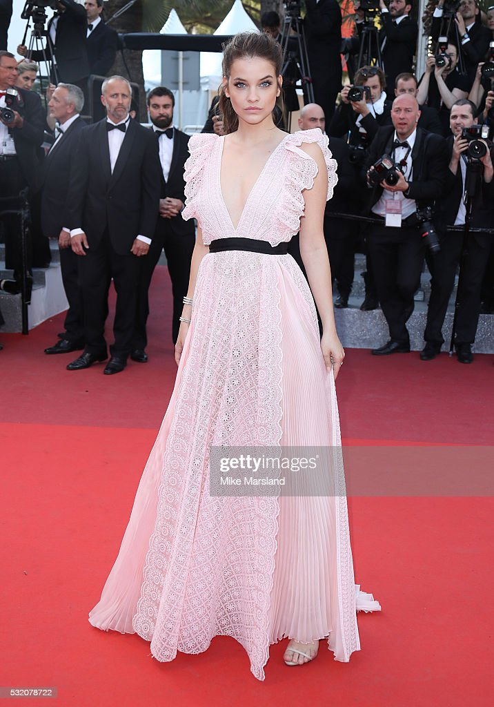 <a gi-track='captionPersonalityLinkClicked' href=/galleries/search?phrase=Barbara+Palvin&family=editorial&specificpeople=7190694 ng-click='$event.stopPropagation()'>Barbara Palvin</a> attends the 'Julieta' Premiere at the annual 69th Cannes Film Festival at Palais des Festivals on May 17, 2016 in Cannes, France.