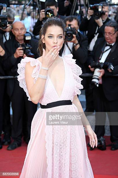 Barbara Palvin attends the 'Julieta' premiere during the 69th annual Cannes Film Festival at the Palais des Festivals on May 17 2016 in Cannes