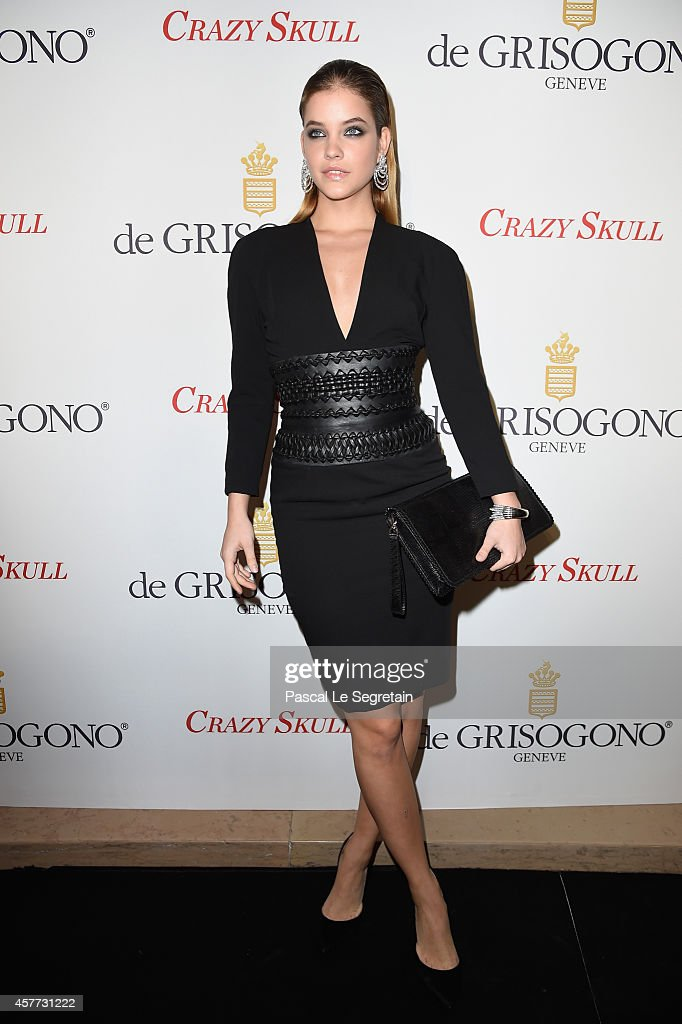 Barbara Palvin attends the launch of the De Grisogono 'Crazy Skull' watch on October 23 2014 in Paris France