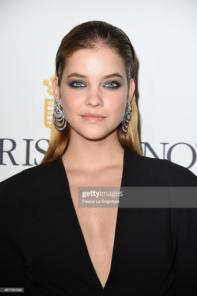 <a gi-track='captionPersonalityLinkClicked' href=/galleries/search?phrase=Barbara+Palvin&family=editorial&specificpeople=7190694 ng-click='$event.stopPropagation()'>Barbara Palvin</a> attends the launch of the De Grisogono 'Crazy Skull' watch on October 23, 2014 in Paris, France.