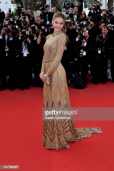 Barbara Palvin attends the 'Lawless' Premiere during the 65th Annual Cannes Film Festival at Palais des Festivals on May 19 2012 in Cannes France