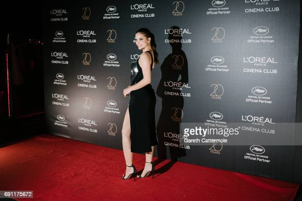 Barbara Palvin attends the L'Oreal Paris Cinema Club party during the 70th annual Cannes Film Festival on May 24 2017 in Cannes France