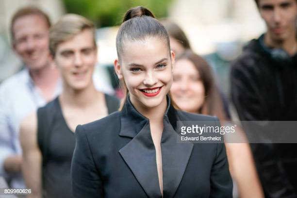 Barbara Palvin attends the Vogue Foundation Dinner during Paris Fashion Week Haute Couture Fall/Winter 20172018 on July 4 2017 in Paris France